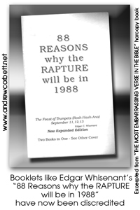 88 Reasons for the RAPTURE in 1988