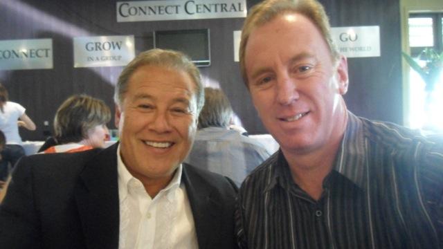 Andrew Corbett with Wayne Codiero