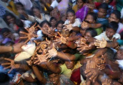 Indian victims of the Tsunami
