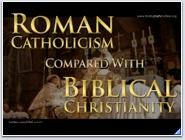 The Difference Between Roman Catholicism and Biblical Christianity Sermon Powerpoint Presentation