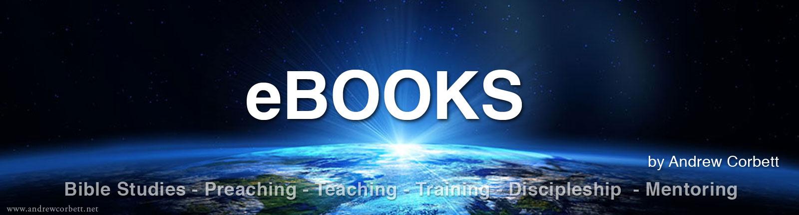 eBooks by Dr. Andrew Corbett