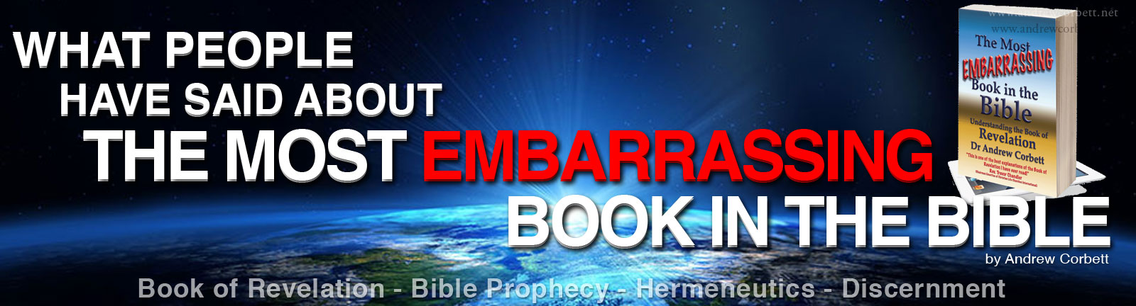 What people are saying about The Most Embarrassing Book In The Bible eBook