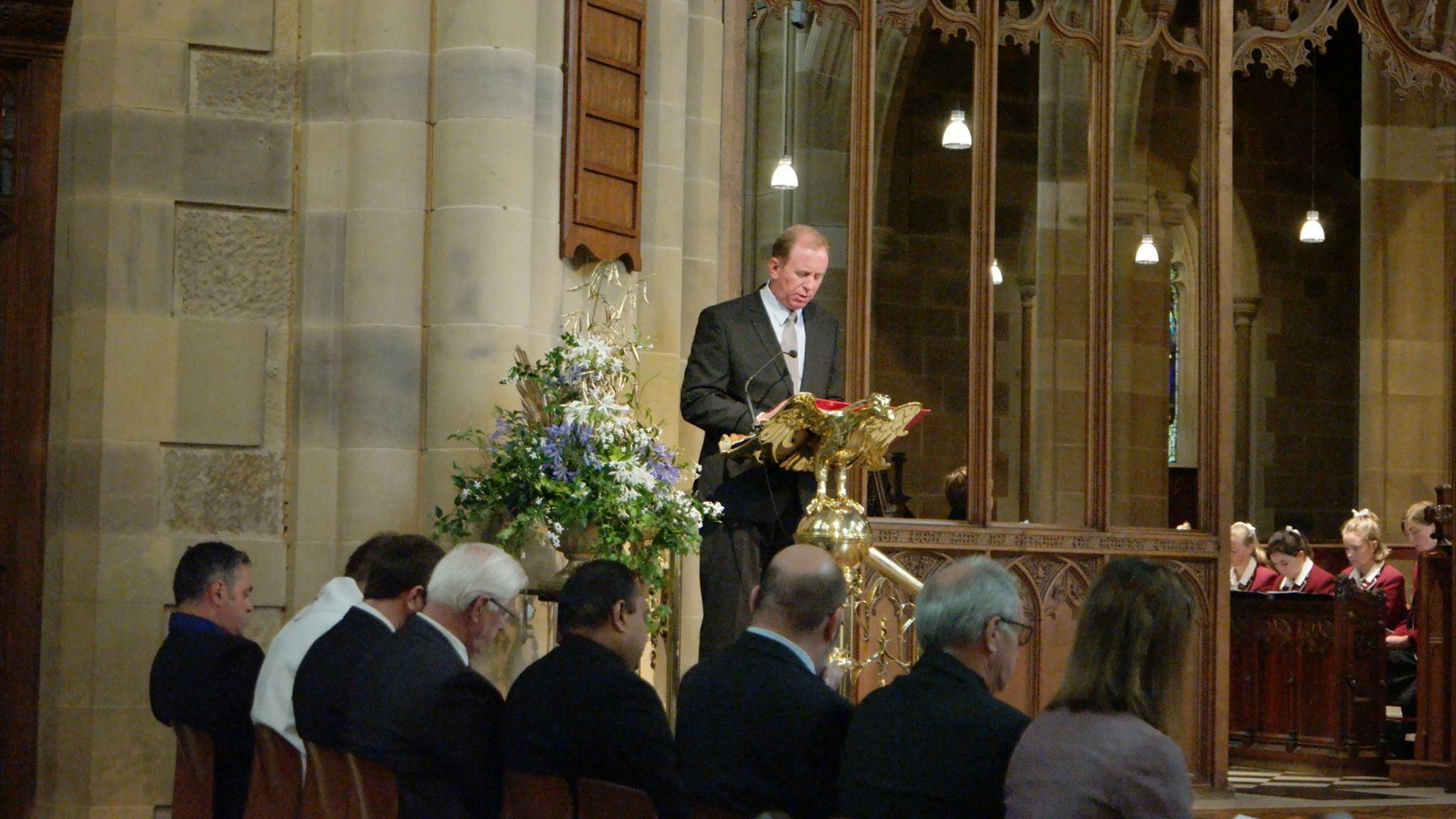 Dr. Andrew Corbett, St. David's Cathedral, Hobart Tasmania 2017