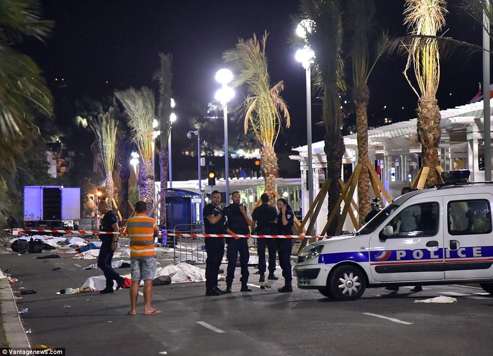 Gendarmarie in Nice