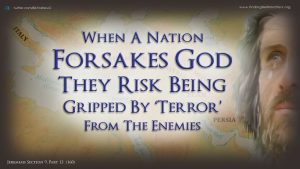 "Jeremiah prophesies ""terrorism"""