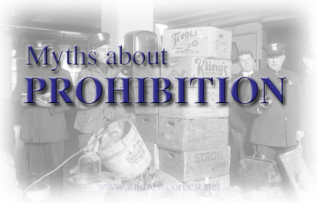 Myths About Prohibition
