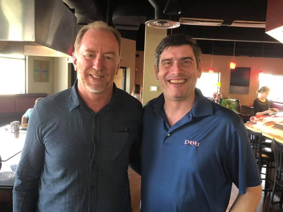 Dr. Andrew Corbett with Will Graham